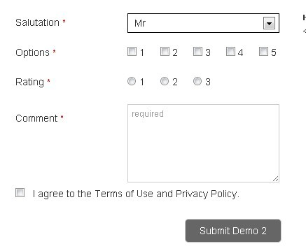 Simple Form Validation Plugin with HTML5 and jQuery