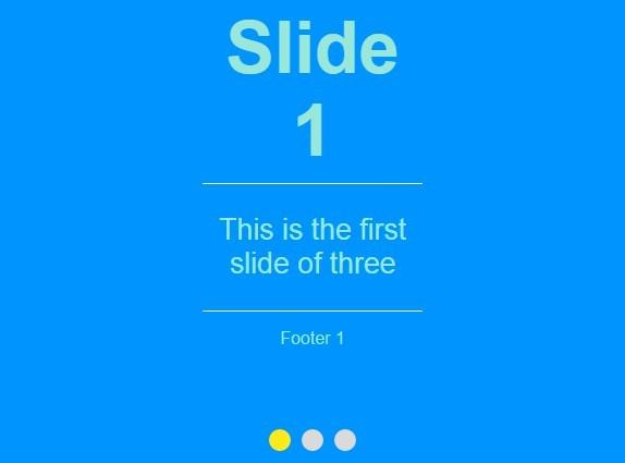 Simple FullScreen Page Slider Plugin with jQuery - sliderFS