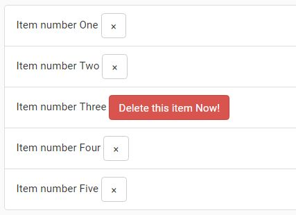 Simple Inline Confirm Button Plugin With jQuery And Bootstrap
