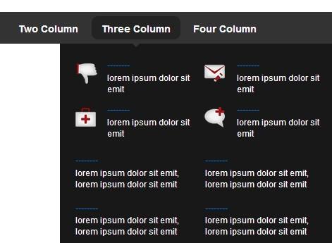 Simple Multi Column Mega Menu Plugin with jQuery - MegaMenu