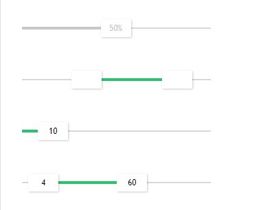 Simple Nice jQuery Value & Range Slider Plugin - Fresh