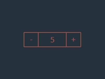 Simple Number Spinner with jQuery and CSS3 - Simple Spinner