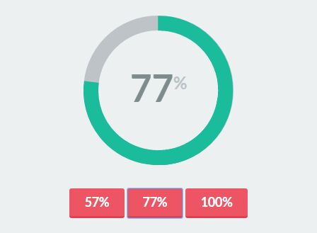 Simple Plain Donut Pie Chart Plugin With Jquery And Css3 Free