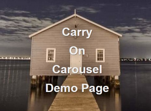 Simple Plain jQuery Image Slider Plugin - Carry On Carousel