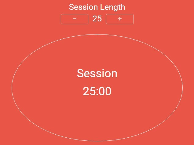 Simple Pomodoro / Tomato Timer Clock with jQuery