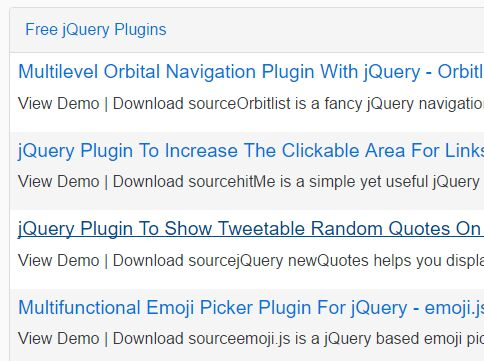 Simple RSS Reader With jQuery And Google Feed API - RssReader