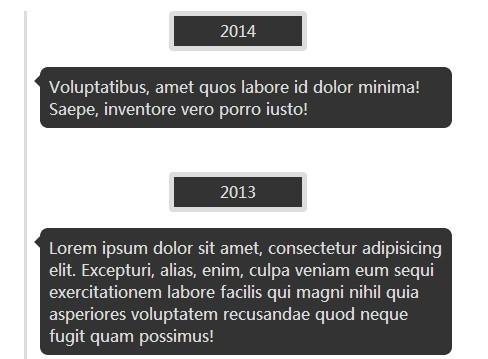 Simple Responsive jQuery Timeline Plugin - myTimeline
