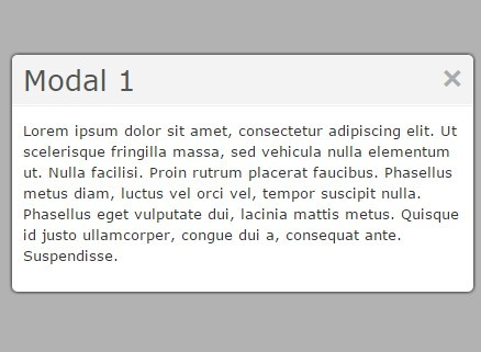 Simple Sliding Modal Window Plugin with jQuery - cosyModal