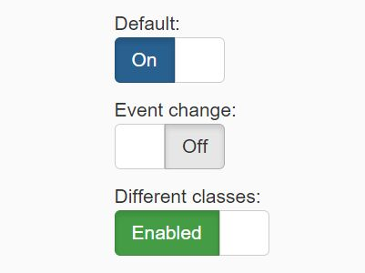 Simple Toggle Switch Plugin With jQuery And Bootstrap - Bootstrap Switch