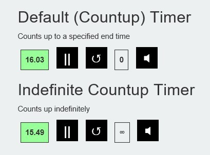 Simple Versatile jQuery Timer Plugin - Workout Timer