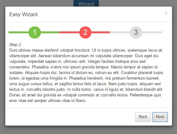 Simple Wizard Modal Plugin with jQuery and Bootstrap - Easy Wizard ...