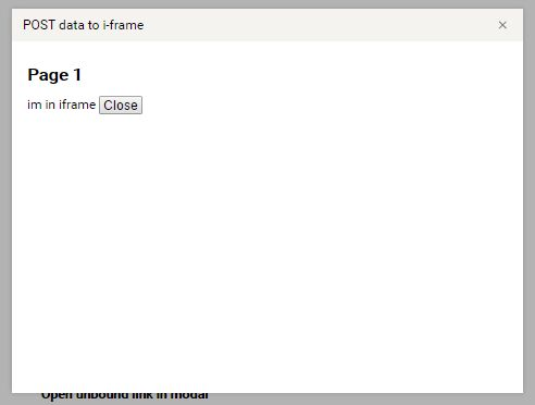 Simple iFrame Modal Plugin With jQuery - modallink | Free jQuery Plugins