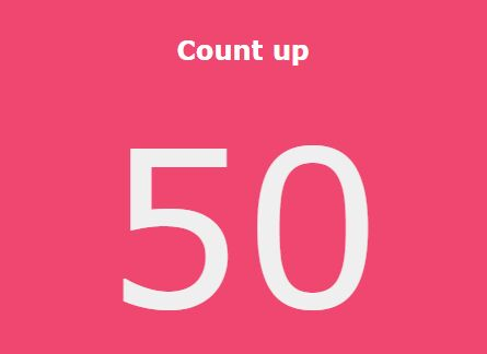 Simple jQuery Animated Counter With Easing Support - SimpleCounter.js