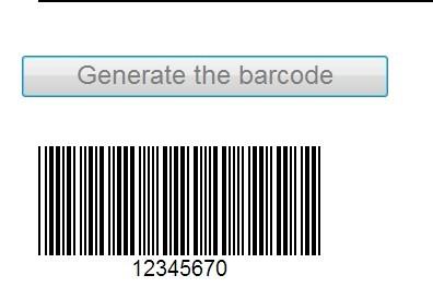 Online barcode writer