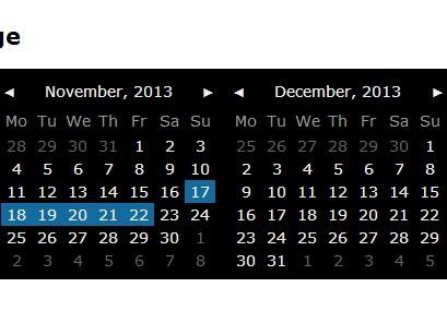 Simple jQuery Calendar and Date Picker Plugin - PickMeUp