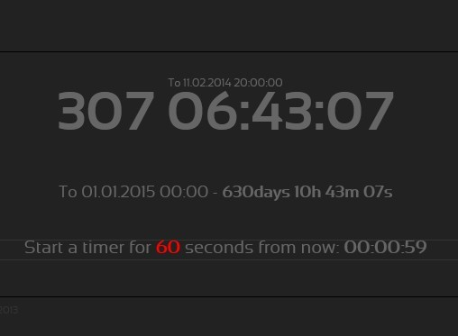 Simple jQuery Countdown Timer Plugin - kkcountdown