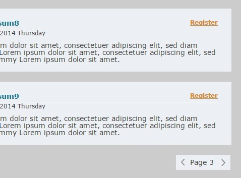 Simple jQuery Pagination Plugin For Long Lists