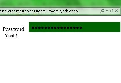 Simple jQuery Password Strength Indicator Plugin - passMeter