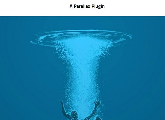 Simple jQuery Plugin For Background Parallax Scrolling Effect - Fallings