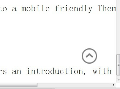 Simple jQuery Plugin For Scroll To Top Button - scrollToTop