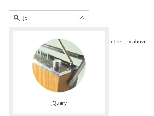 Simple jQuery Plugin For Search Suggestion Box - Tipue Drop