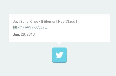 Simple jQuery Plugin for Displaying Twitter Feed - Tweetie