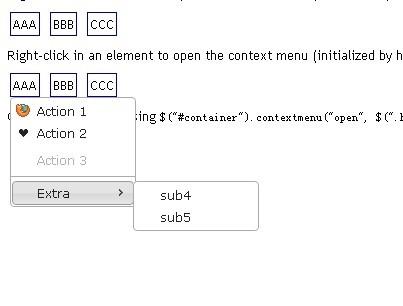 Simple jQuery & jQuery UI Right-Click Context Menu Plugin