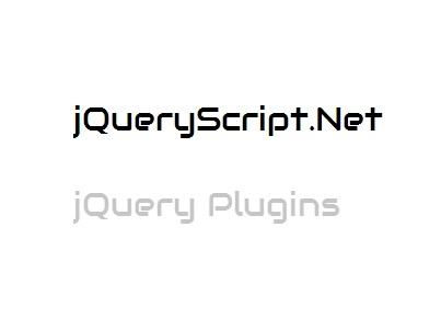 Simple jQuery Text Rotator with Flip Effect - flippy