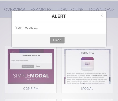 SimpleModal - Beautiful Popup Window Plugin