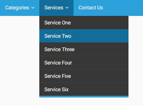 Simplest Dropdown Navigation With jQuery And CSS