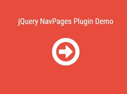 Simplest Fullscreen Page Slider Plugin with jQuery - NavPages