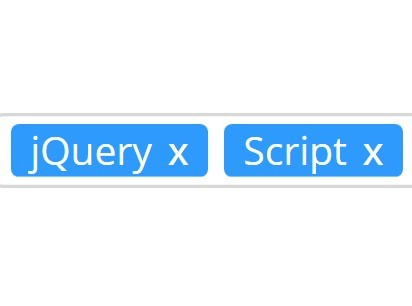 Simplest jQuery Tags Input Plugin - tags