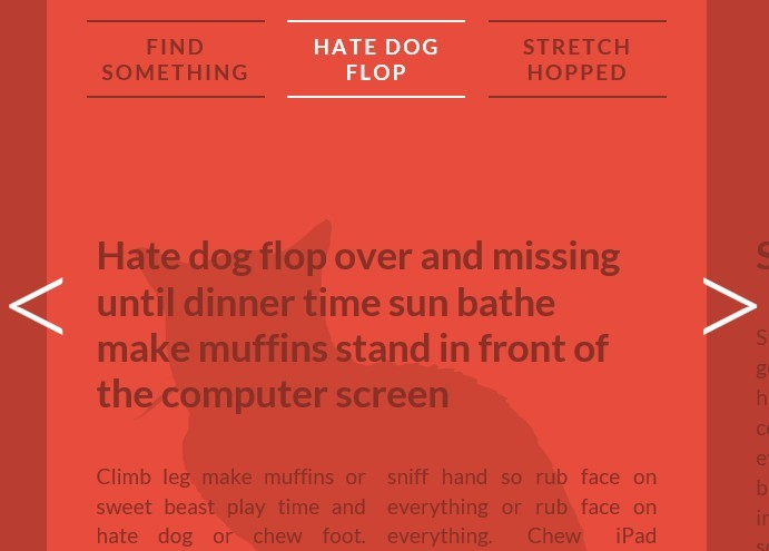 Slider-Like Horizontal Sliding Layout with Javascript and CSS3