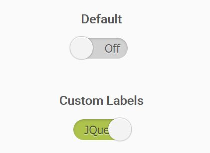 Checkbox Based Sliding Switch - jQuery simpleToggler
