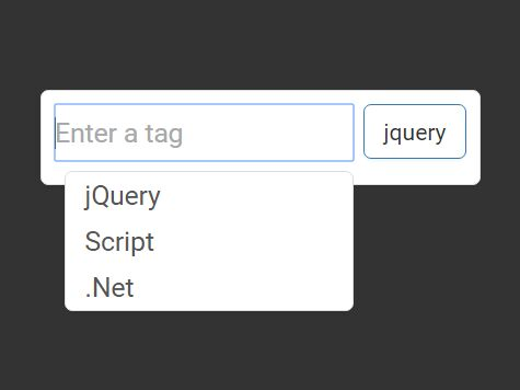 Small Bootstrap Tagging Plugin With Autocomplete Support - Tagsy