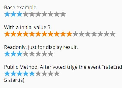 Small Star Rating Plugin With jQuery - rating.js