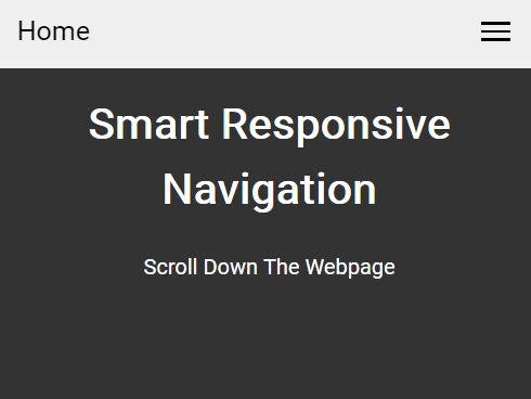 Smart, Sticky, Responsive Navigation With jQuery And CSS3