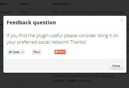 Smart jQuery Plugin For Page Leave Event - pageleave