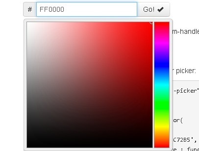 Smooth Color Picker Plugin with jQuery and Bootstrap - jqolor