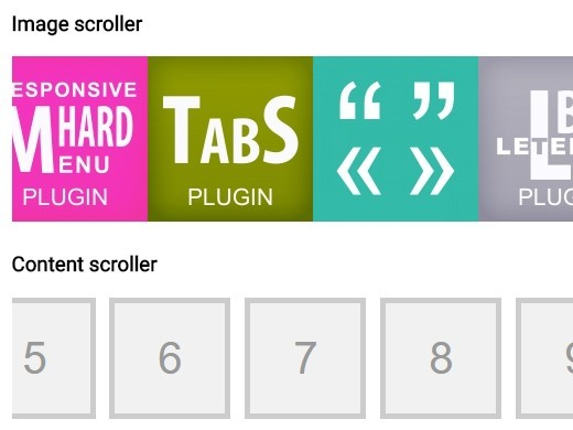Smooth Marquee-like Content Scroller Plugin For jQuery