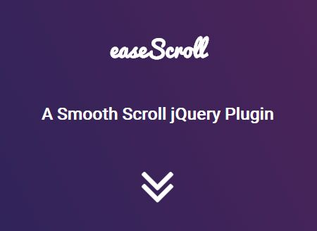 Smooth Mouse Wheel Scrolling Plugin With jQuery - easeScroll