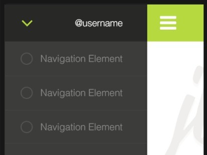 Smooth Off-canvas Navigation Plugin For jQuery - jvette