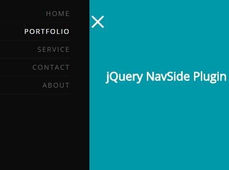 Smooth Sidebar Navigation Plugin with jQuery - NavSide