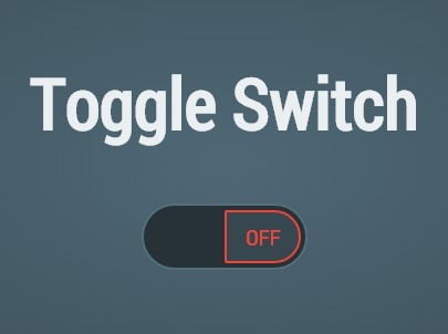 Smooth Single Element Toggle Switch with jQuery and CSS3