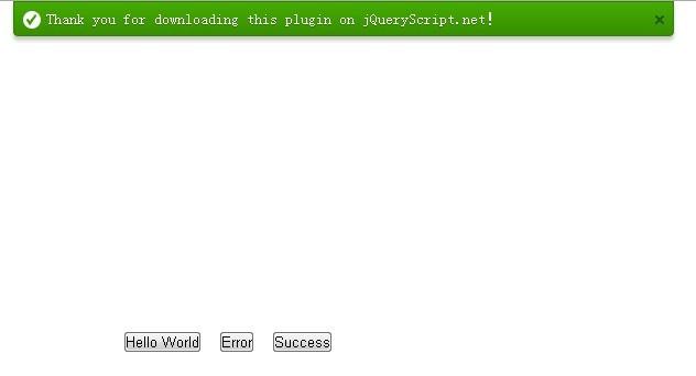 Smooth Sliding Notification Bar Plugin - msgTips