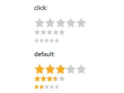 Smooth Star Rating Plugin with jQuery and CSS3 - voteStar js