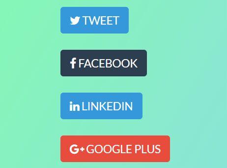Minimalist Social Sharing jQuery Plugin - socialShare