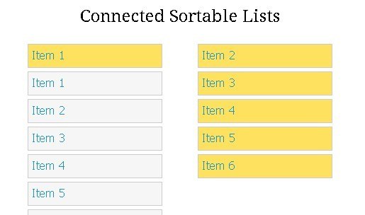 Sortable Lists and Grids with jQuery & HTML5 - html5sortable