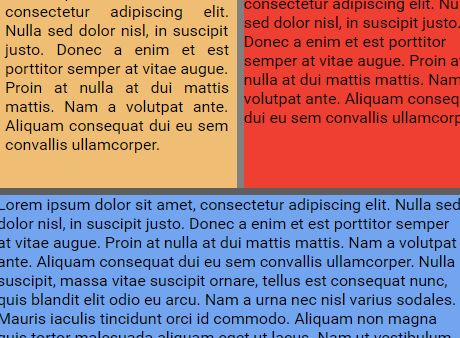 Easy Split Layout Plugin For jQuery - Splitter