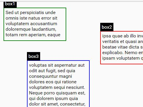 Spread Long Text Between Multiple Containers - jQuery Spread